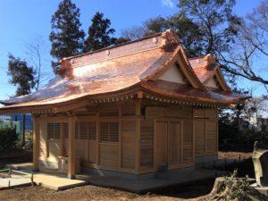 埼玉県さいたま市岩槻区 和泉三社 本殿・拝殿新築工事
