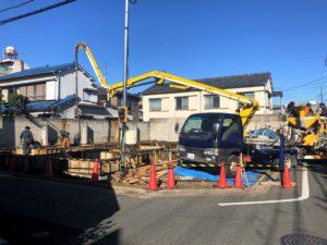 東京都足立区 H様邸新築工事:基礎工事④