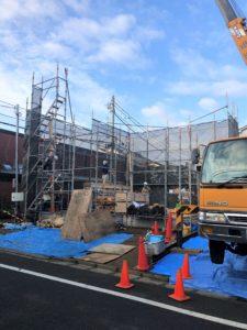 東京都足立区 H様邸新築工事:上棟①