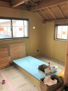 東京都足立区 H様邸新築工事:壁施工