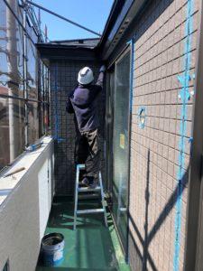 東京都足立区 H様邸新築工事:外壁工事