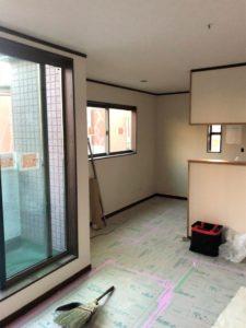 東京都足立区 H様邸新築工事:2階内装工事