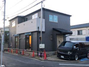 東京都足立区 H様邸新築工事:足場解体