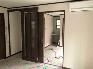 東京都足立区 H様邸新築工事:1階内装工事