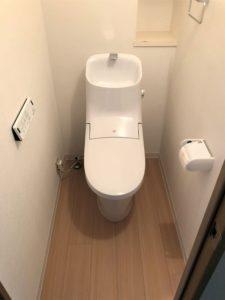 埼玉県草加市 I様邸 トイレ改修工事