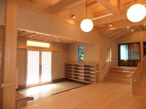 埼玉県さいたま市西区 寺院新築工事:内部完成