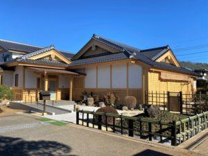 埼玉県さいたま市西区 寺院新築工事:外部完成
